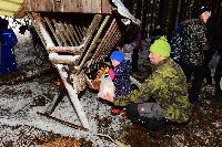 Vánoční krmení zvířátek